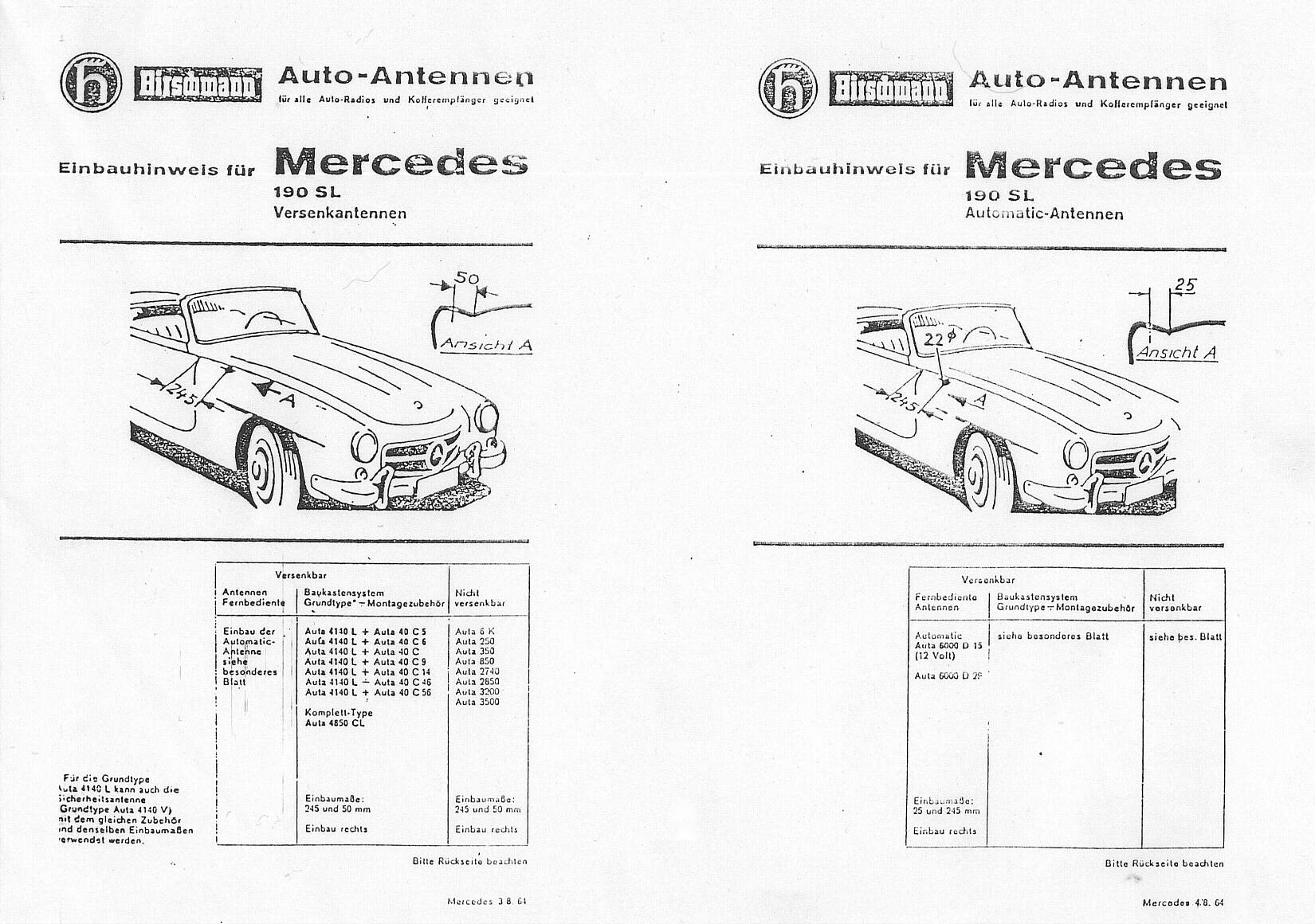 Mercedes Benz 190e Wiring Diagram Filetype Pdf W201 Engine Libraryhirschman Antenna Installation Manual Covers Page